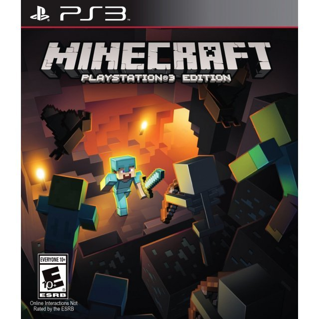 Minecraft: PlayStation 3 Edition (Chinese & English)