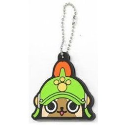 Capcom Monster Hunter 4 Rubber Key Cover: Donguri Neko Series