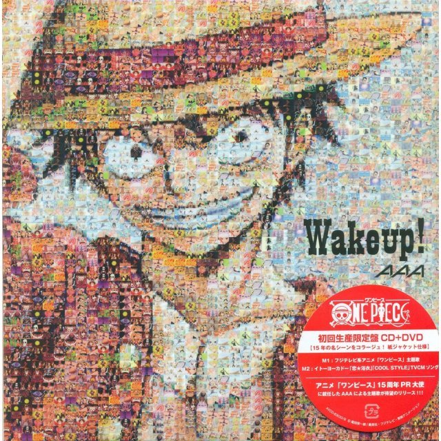 Wake Up [CD+DVD, Limited Edition Type A One Piece Ver.]