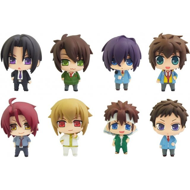 Color Collection Hakuouki SSL (Set of 8 pieces)