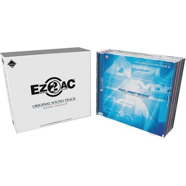 EZ2AC Original Soundtrack [4CD Limited Edition]