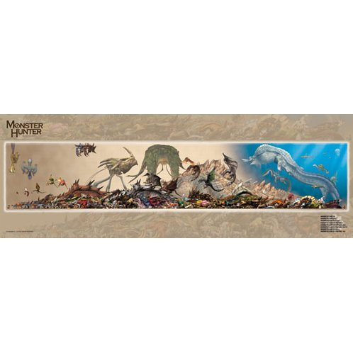 Monster Hunter Monster Size Chart  Jigsaw Puzzle