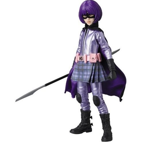 Real Action Heroes No.677 Kick-Ass Fashion Doll: Hit-Girl First Film Ver.