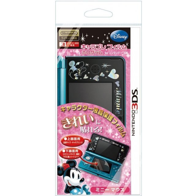 Chara Pure Hologram Seal for 3DS (Minnie)