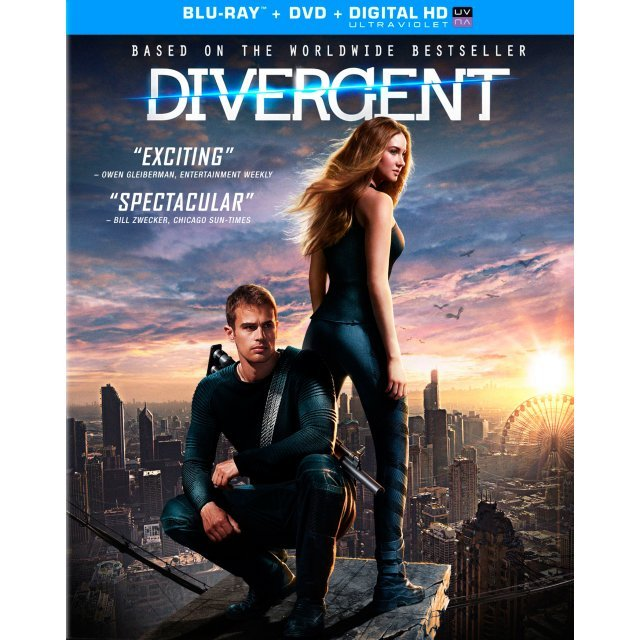 Divergent [Blu-ray+DVD+UltraViolet+Digital HD]