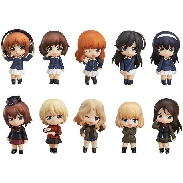 Nendoroid Petite: Girls und Panzer (Set of 12 pieces) (Re-run)