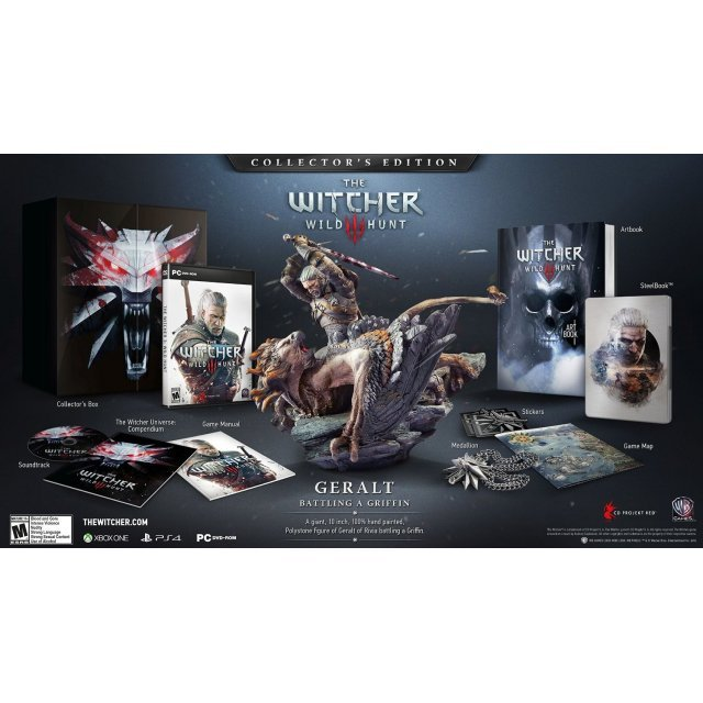 The Witcher 3: Wild Hunt (Collector's Edition) (DVD-ROM)