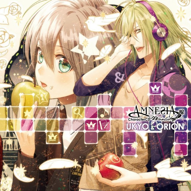 Amnesia World Character Cd Ukyo And Orion