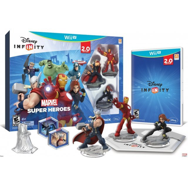 Disney Infinity: Marvel Super Heroes Starter Pack (2.0 Edition)