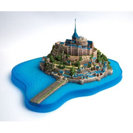 World Heritage Kumkum Puzzle: Mont-Saint-Michel [stopped production]
