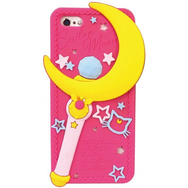gourmandise Sailor Moon iPhone5/5S Silicon Jacket: Moon Stick SLM-15A