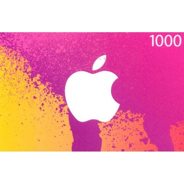 iTunes Card (1000 Yen / for Japan accounts only)