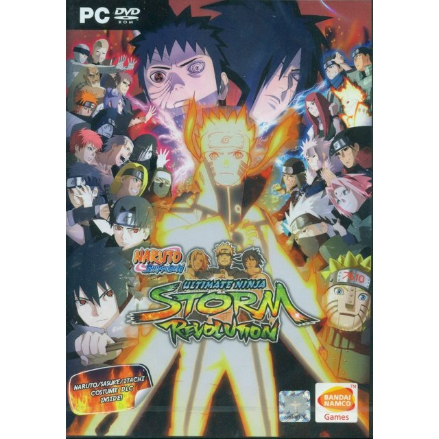 Naruto Shippuden: Ultimate Ninja Storm Revolution (English)