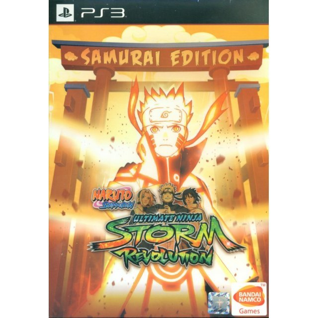 Naruto Shippuden: Ultimate Ninja Storm Revolution [Samurai Edition] (English)