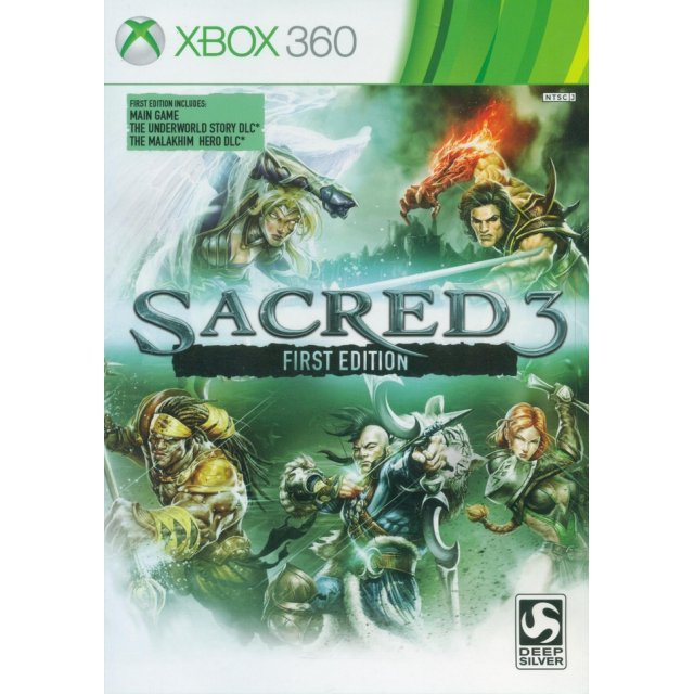 Sacred 3: First Edition (English)