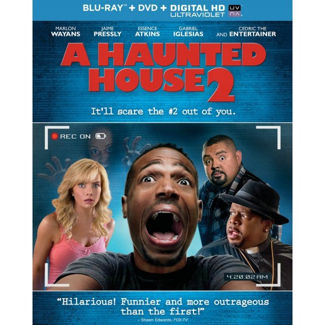 A Haunted House 2 [Blu-ray+DVD+Digital Copy+UltraViolet]