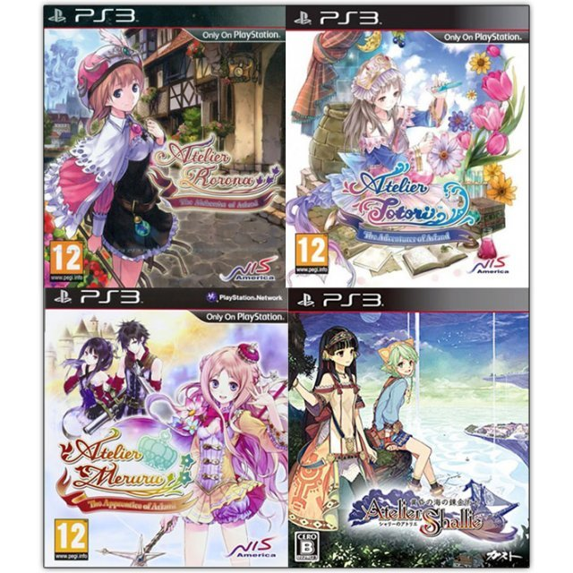 Atelier Shallie with Atelier Bundle Vol 1