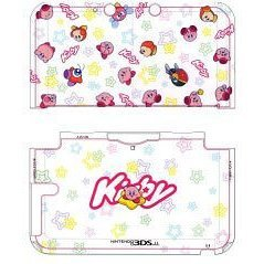3DS LL Character Hard Cover (Kirby & Star)