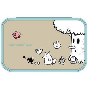 3DS LL Character Soft Pouch (Kirby Friends)