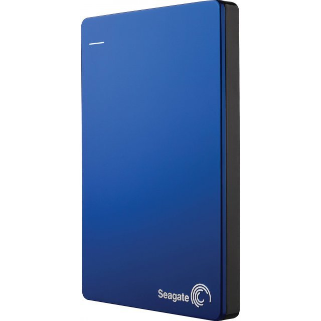 Seagate Backup Plus Slim 1TB, USB 3.0 (Blue)