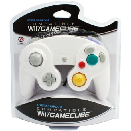 CirKa Wired Controller For Wii/GameCube (White)