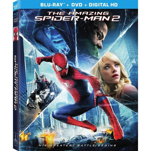 The Amazing Spider-Man 2 [Blu-ray+DVD+UltraViolet]