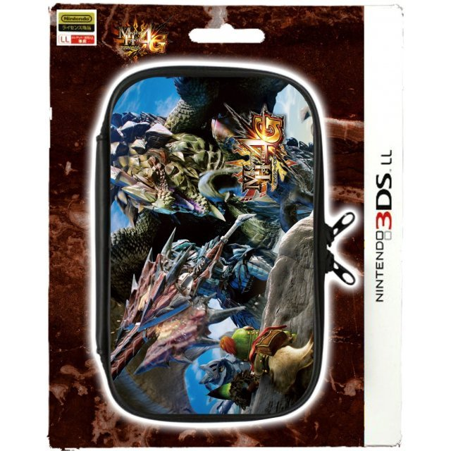 Monster Hunter 4G Pouch for 3DS LL