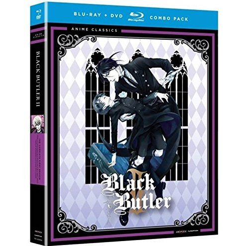 Black Butler: Complete Second Season [Blu-ray+DVD]