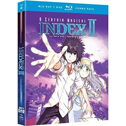 Certain Magical Index II: Season 2 - Part 1 [Blu-ray+DVD]