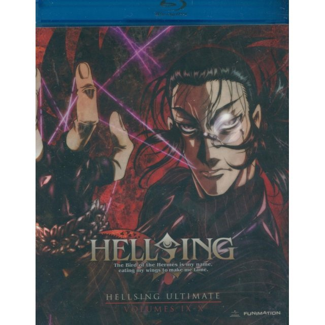 Hellsing Ultimate: Collection Volumes 9 & 10 [Blu-ray+DVD]