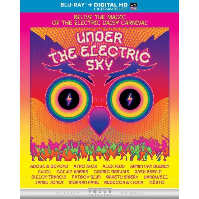 Under the Electric Sky [Blu-ray+Digital Copy+UltraViolet]