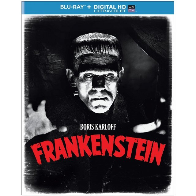 Frankenstein [Blu-ray+Digital HD+UltraViolet]