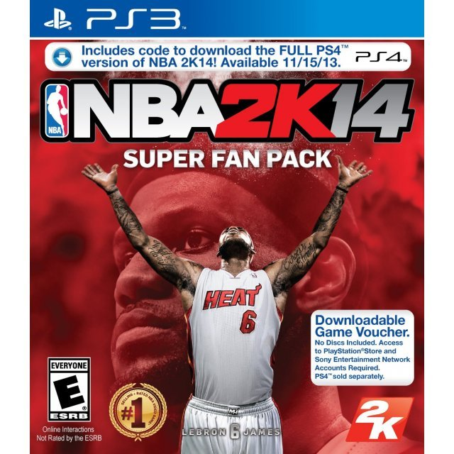 NBA 2K14 Super Fan Pack (PS3 and PS4 versions included)