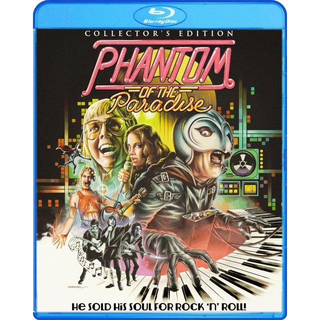 Phatom of the Paradise (Collector's Edition) [Blu-ray+DVD]
