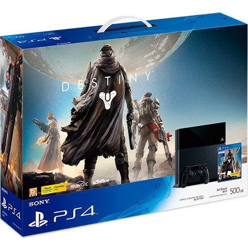 PlayStation 4 System - Destiny Bundle Set (Jet Black)