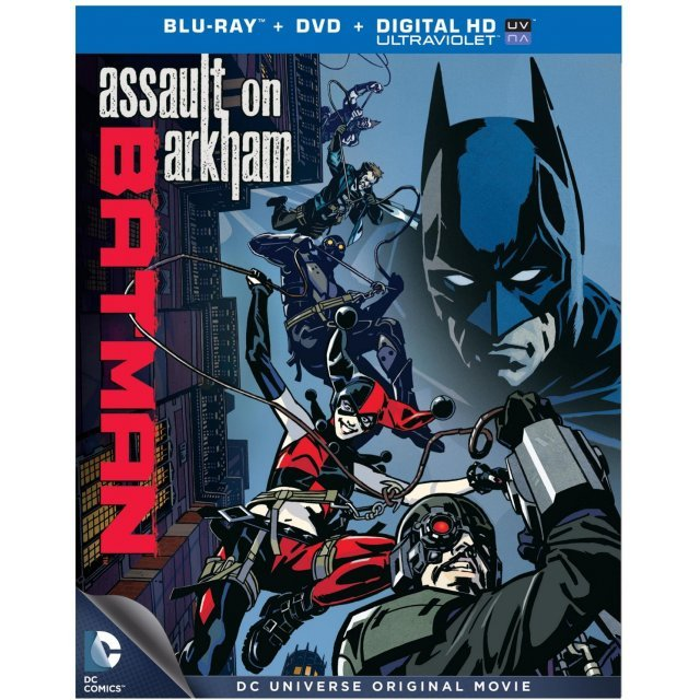 Batman: Assault on Arkham [Blu-ray+DVD+Digital Copy+Ultraviolet]