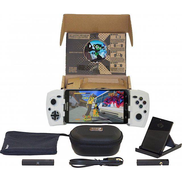 Phonejoy Bluetooth Game Controller (White) (Pro Bundle)