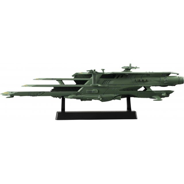 Cosmo Fleet Collection Space Battleship Yamato 2199: Guipellon Class Multiple Flight Deck Astro Carrier Balgray