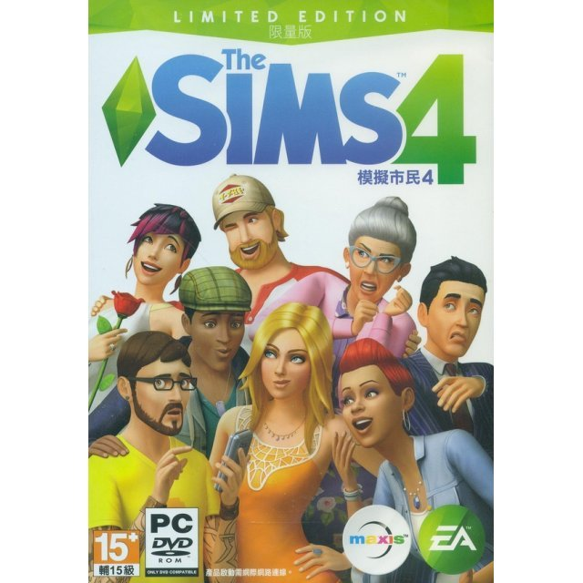 The Sims 4 (Limited Edition) (DVD-ROM) (Chinese)