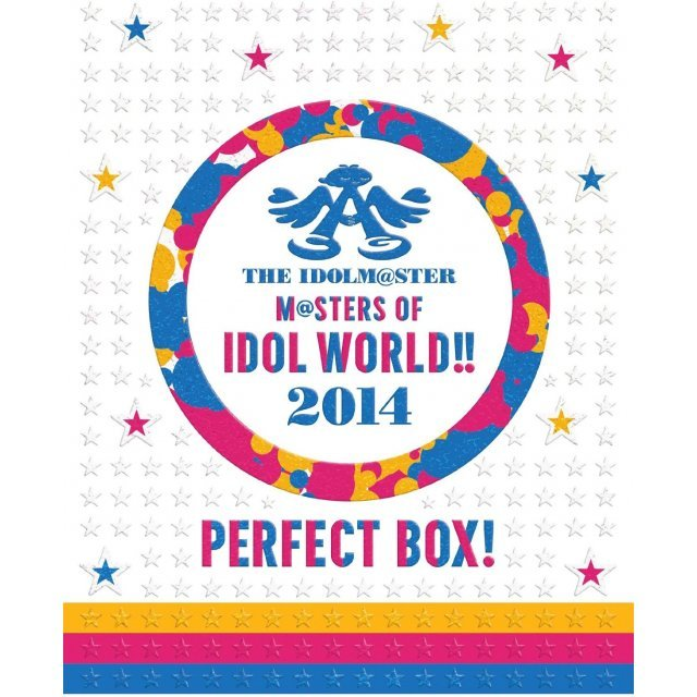 Idolm@ster Masters Of Idol World 2014 Perfect Box [Limited Edition]