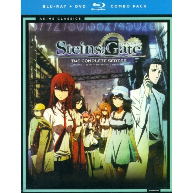 Steins;Gate: The Complete Series [Blu-ray+DVD]