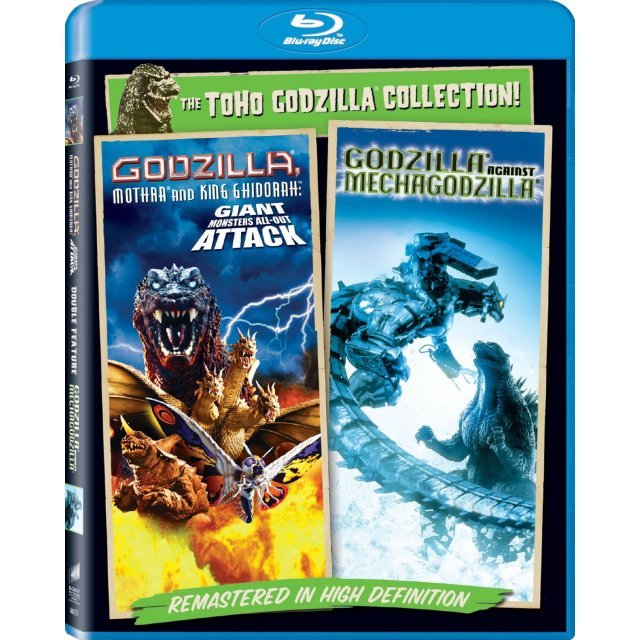Godzilla Against Mechagodzilla (2002) / Godzilla, Mothra, and King Ghidorah: Giant Monsters All-Out Attack