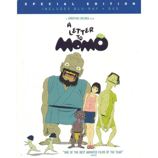 A Letter to Momo [Blu-ray+DVD]