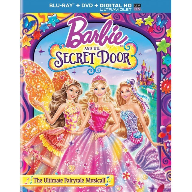 Barbie and the Secret Door [Blu-ray+DVD+Digital HD+UltraViolet]