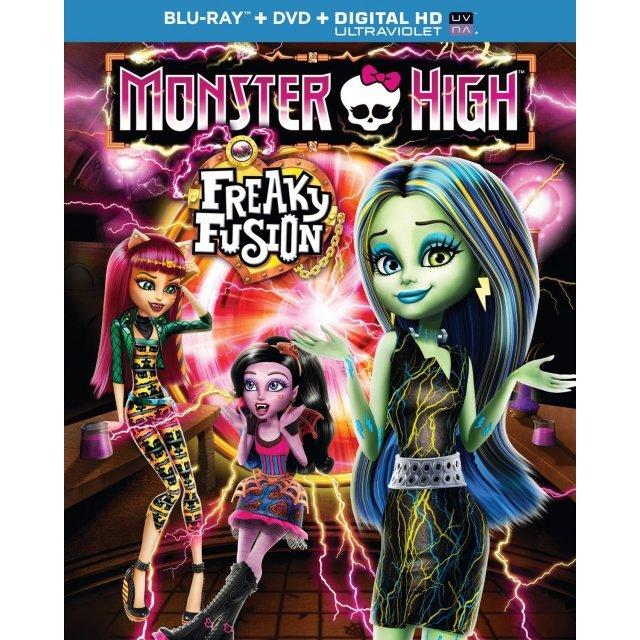 Monster High: Freaky Fusion [Blu-ray+DVD+Digital Copy+UltraViolet]