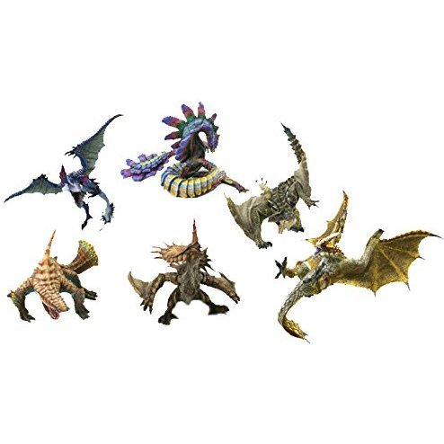 Capcom Figure Builder Monster Hunter: Standard Model Plus Vol.1 (Set of 6 pieces)