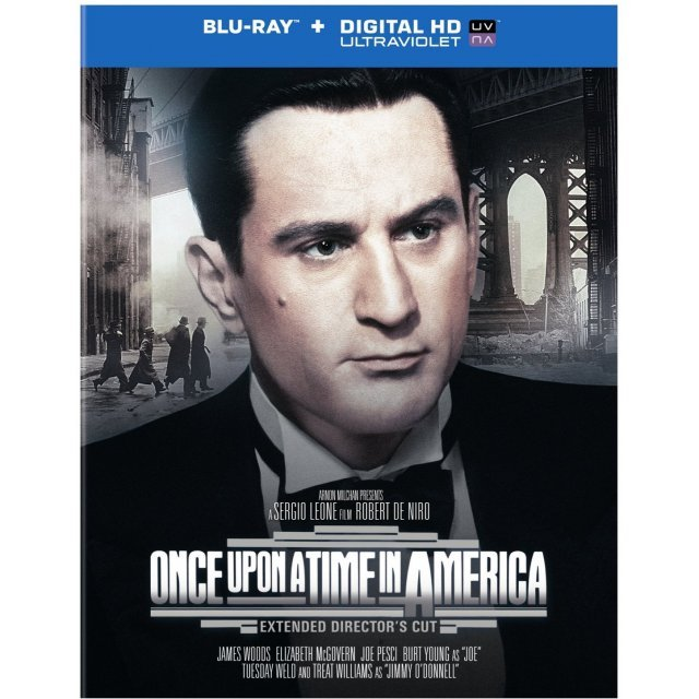 Once Upon a Time in America: Extended Director's Cut [Blu-ray+DVD+UltraViolet]