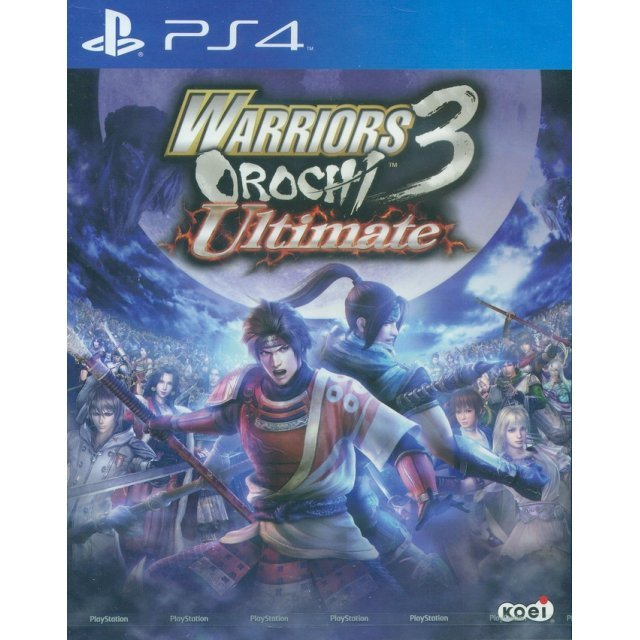Warriors Orochi 3 Ultimate (English Sub)