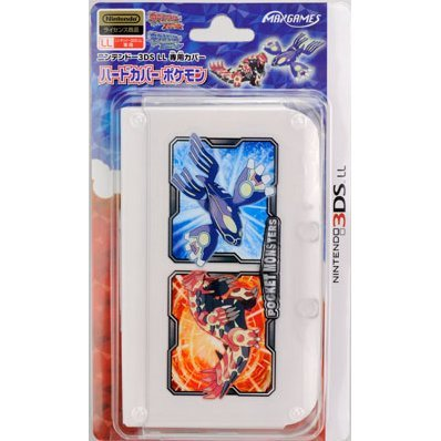 Pokemon Hard Cover for 3DS LL (Genshi Groudon/Genshi Kyogre)