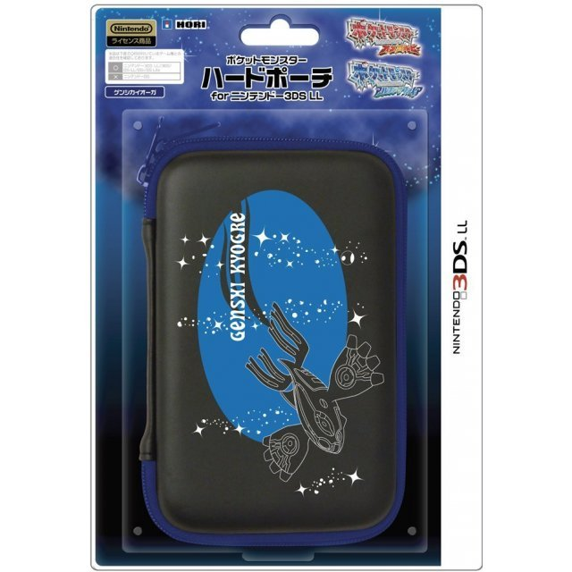 Pokemon Hard Pouch for 3DS LL (Genshi Kyogre)